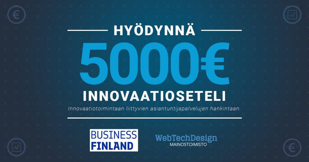 Business Finlans innovaatioseteli - banneri