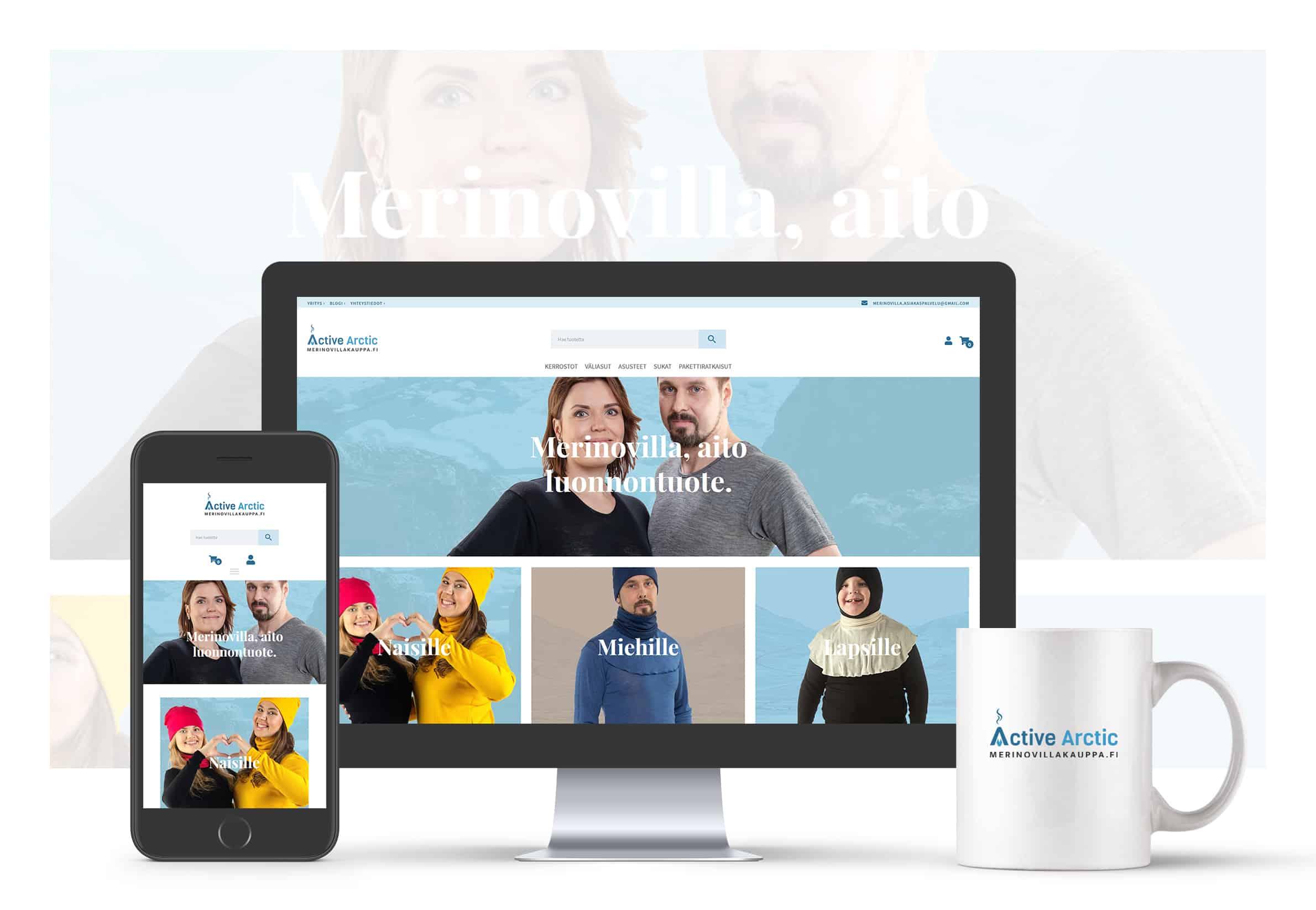 Merinovillakauppa.fi   Active Arctic